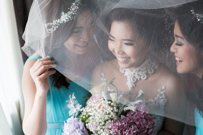 Jonathan and Aulia wedding day by SS Florist - 002