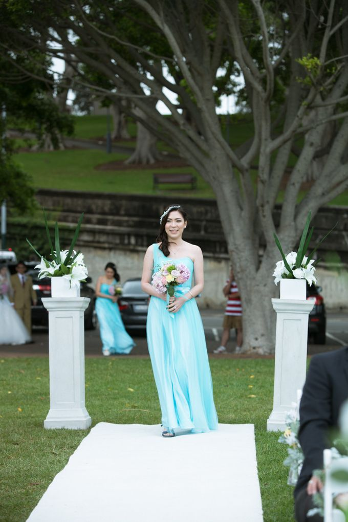 Jonathan and Aulia wedding day by SS Florist - 003