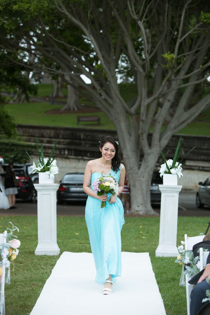 Jonathan and Aulia wedding day by SS Florist - 004