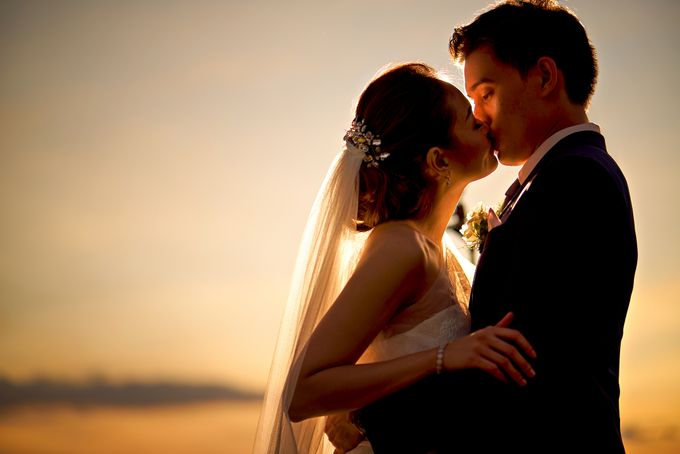 A relaxed wedding of Jose and Golda in Punta Fuego by Jiggie Alejandrino Wedding Photographs - 009