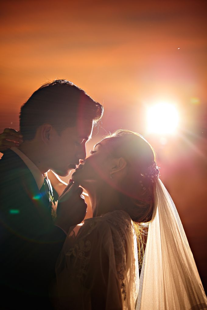 A relaxed wedding of Jose and Golda in Punta Fuego by Jiggie Alejandrino Wedding Photographs - 007