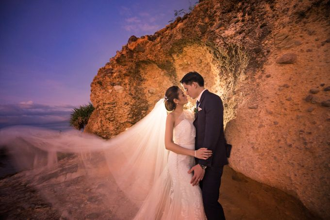 A relaxed wedding of Jose and Golda in Punta Fuego by Jiggie Alejandrino Wedding Photographs - 001