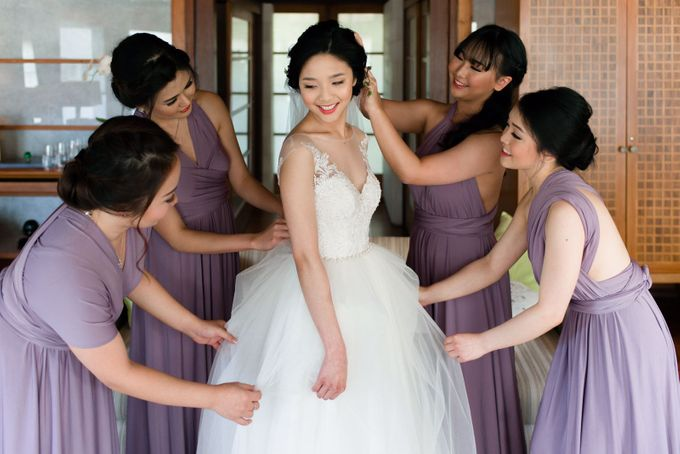 Yongky & Josie - Pastel Love by MALVA Bridesmaids - 001