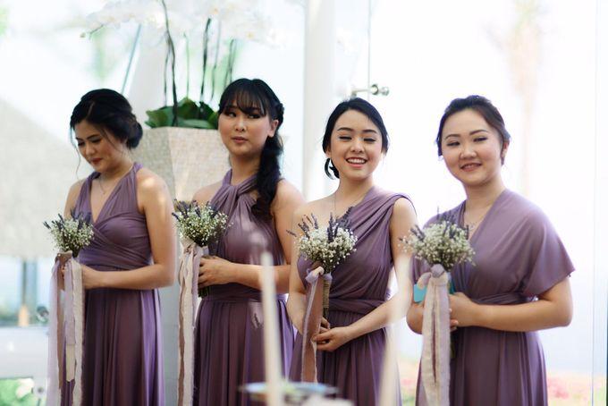 Yongky & Josie - Pastel Love by MALVA Bridesmaids - 003
