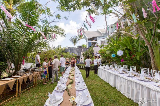Destination Villa Wedding for Juliana and Don by Unique Wedding and Events - 020