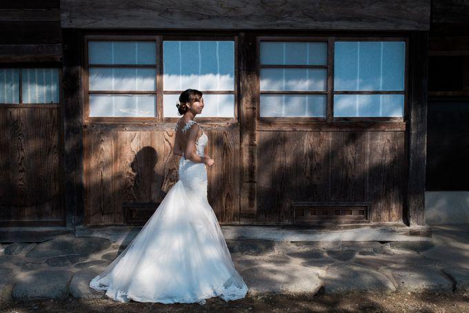 Bareback Mermaid wedding dress by Kelly's Bridals - 025