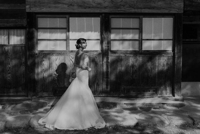 Bareback Mermaid wedding dress by Kelly's Bridals - 026