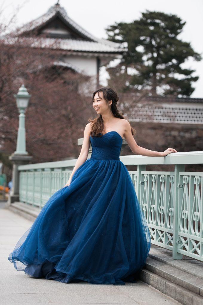 Bareback Mermaid wedding dress by Kelly's Bridals - 040
