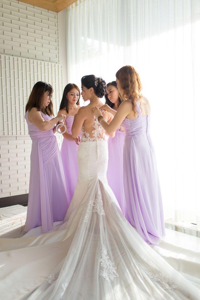 Karen & Jake wedding at Conrad Koh Samui by Conrad Koh Samui - 007