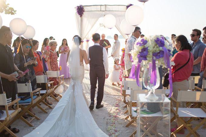 Karen & Jake wedding at Conrad Koh Samui by Conrad Koh Samui - 011