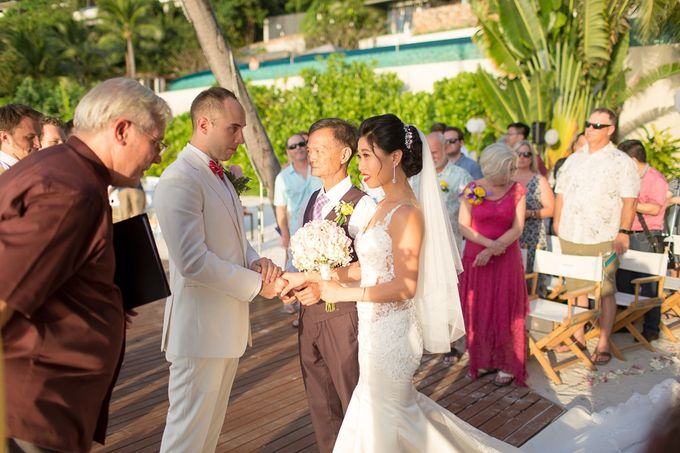 Karen & Jake wedding at Conrad Koh Samui by Conrad Koh Samui - 012