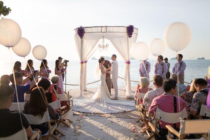 Karen & Jake wedding at Conrad Koh Samui by Conrad Koh Samui - 013