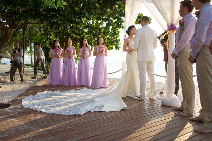 Karen & Jake wedding at Conrad Koh Samui by Conrad Koh Samui - 014