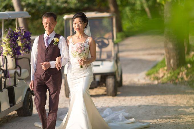 Karen & Jake wedding at Conrad Koh Samui by Conrad Koh Samui - 015