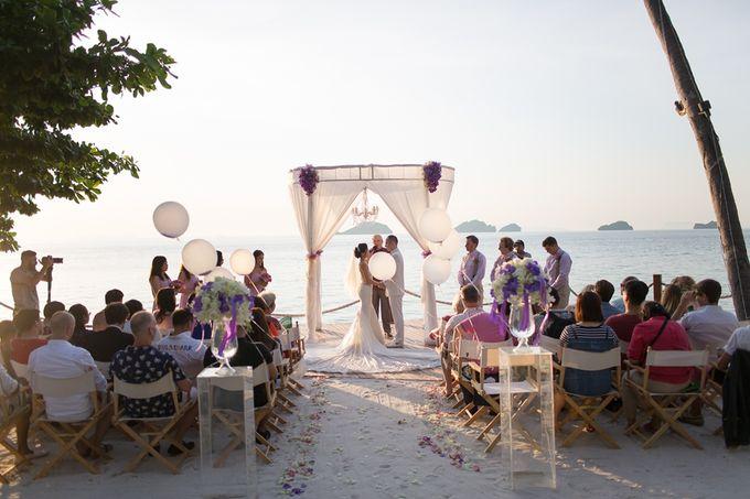 Karen & Jake wedding at Conrad Koh Samui by Conrad Koh Samui - 016