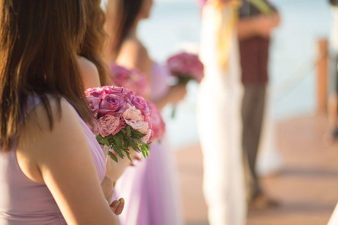 Karen & Jake wedding at Conrad Koh Samui by Conrad Koh Samui - 017