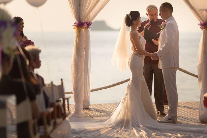Karen & Jake wedding at Conrad Koh Samui by Conrad Koh Samui - 018