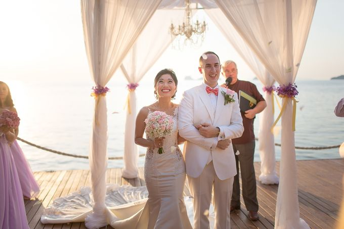 Karen & Jake wedding at Conrad Koh Samui by Conrad Koh Samui - 019