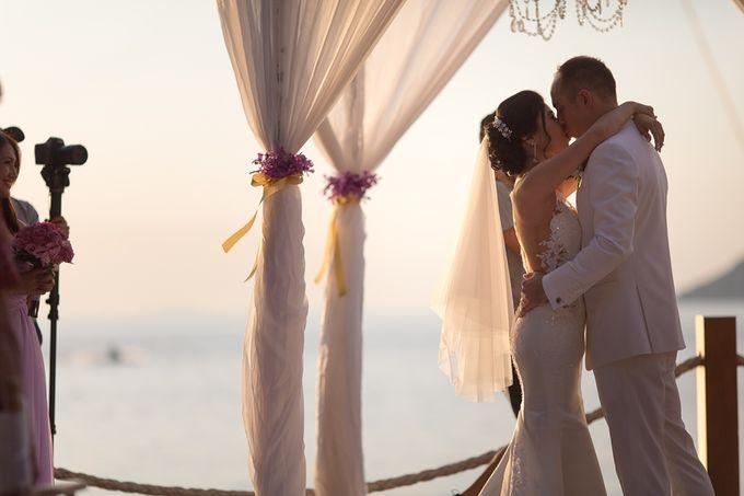 Karen & Jake wedding at Conrad Koh Samui by Conrad Koh Samui - 022