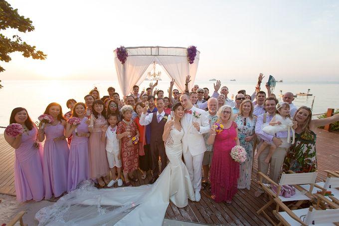 Karen & Jake wedding at Conrad Koh Samui by Conrad Koh Samui - 023