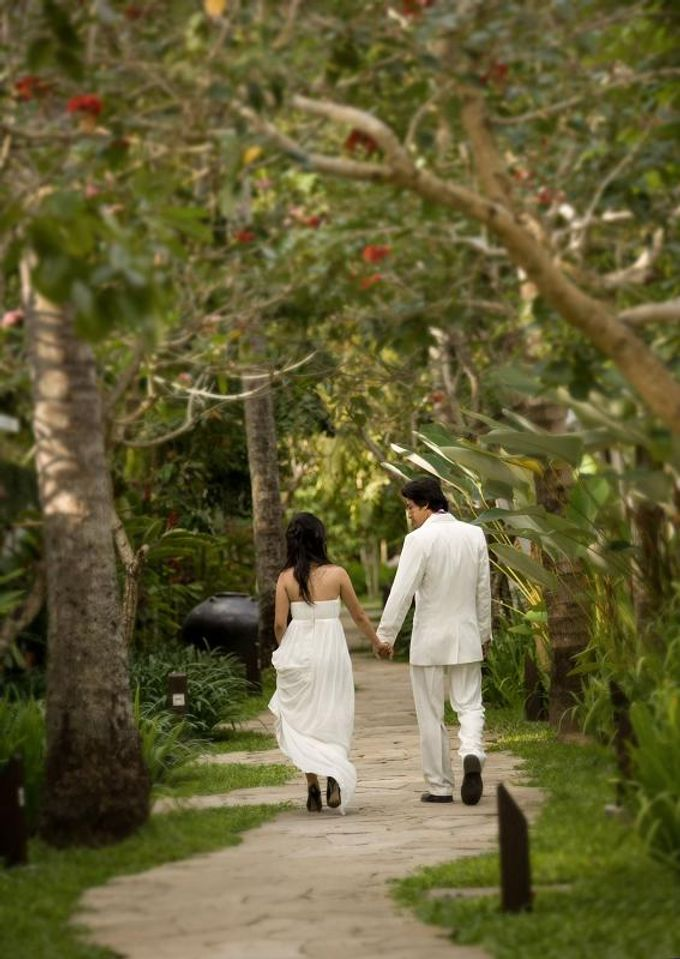 kayumanis jimbaran-wedding ceremony-garden by Kayumanis Private Villa and Spa - 016
