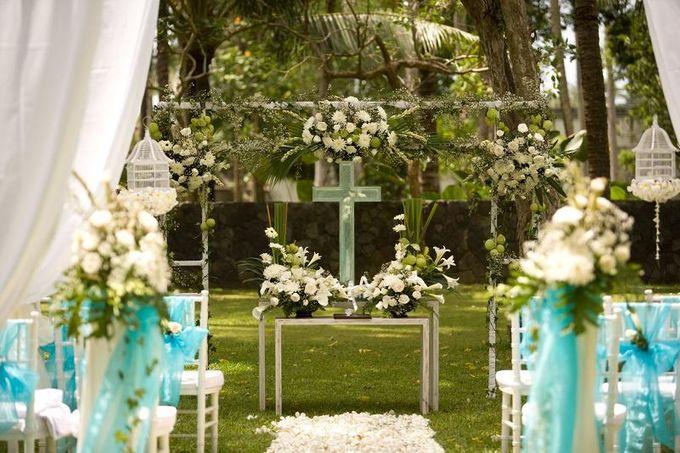 kayumanis jimbaran-wedding ceremony-garden by Kayumanis Private Villa and Spa - 021
