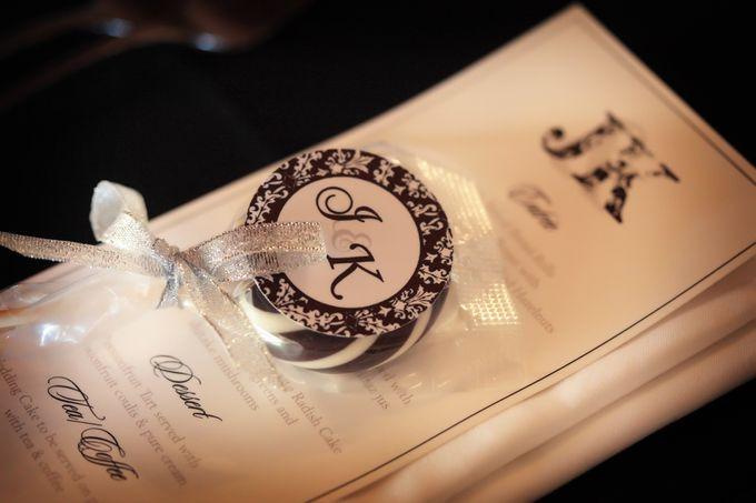 Joanne & Kirk by Carte Blanche Wedding Design - 005