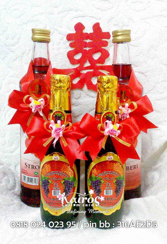 Li Chao & Fenny Engagement by Kairos Wedding Invitation - 007