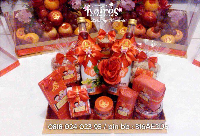 Li Chao & Fenny Engagement by Kairos Wedding Invitation - 004