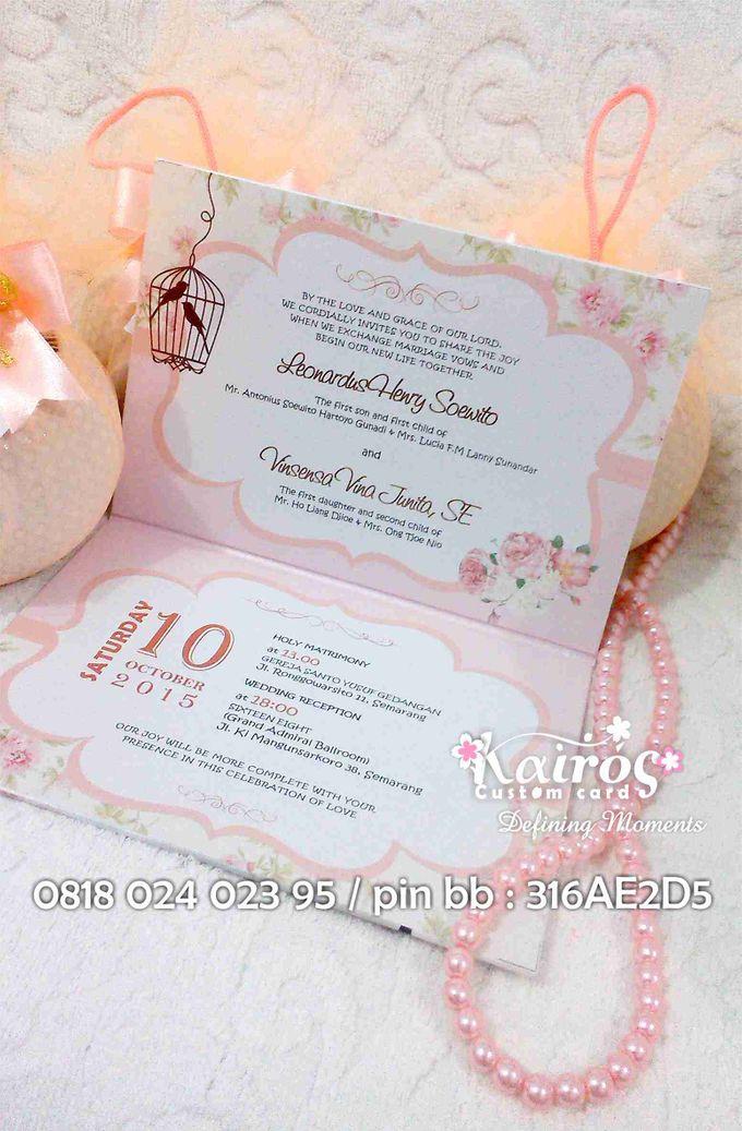 Henry & Vina Wedding by Kairos Wedding Invitation - 001