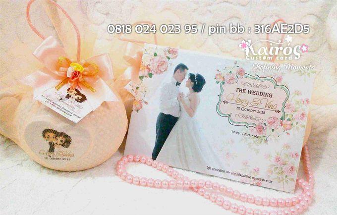Henry & Vina Wedding by Kairos Wedding Invitation - 004