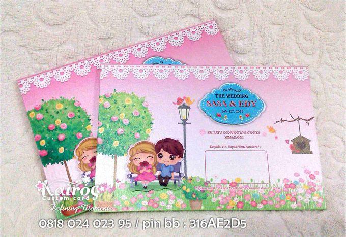 Sasa & Eddy by Kairos Wedding Invitation - 002