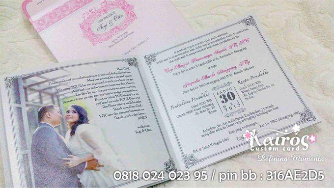 Togi & Olin - Medan by Kairos Wedding Invitation - 001