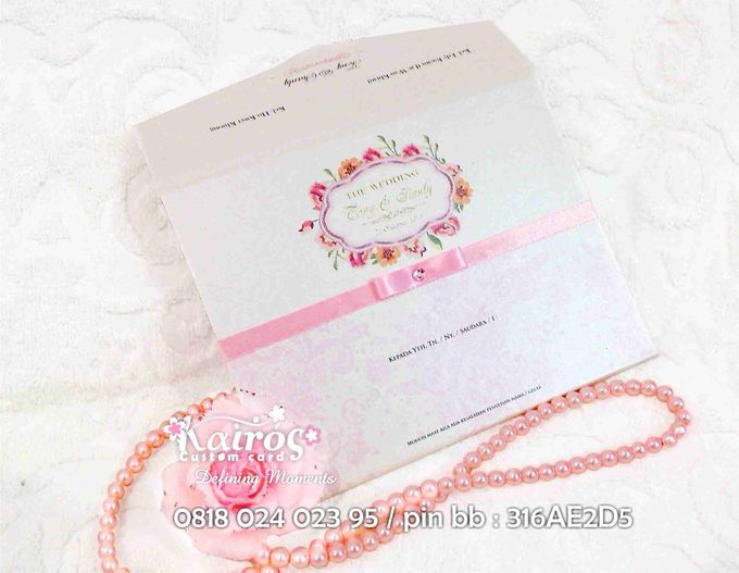 Tony & Sianly by Kairos Wedding Invitation - 002