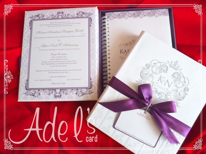 Hard Cover by Adel's House of card - 013