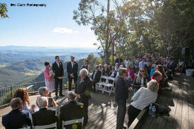 OReillys Rainforest Retreat Wedding by Ben Clark Photography - 009