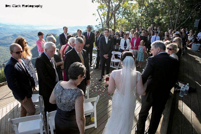 OReillys Rainforest Retreat Wedding by Ben Clark Photography - 010