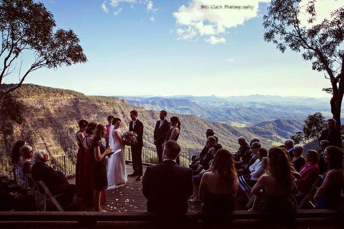 OReillys Rainforest Retreat Wedding by Ben Clark Photography - 011