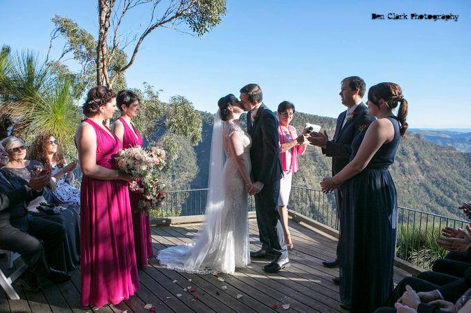 OReillys Rainforest Retreat Wedding by Ben Clark Photography - 013
