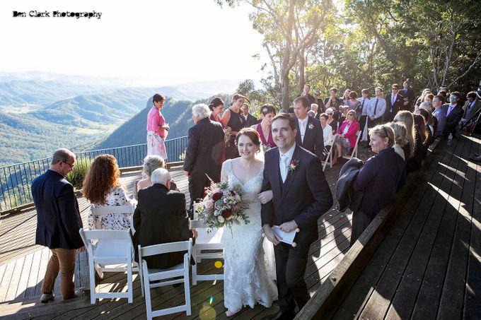 OReillys Rainforest Retreat Wedding by Ben Clark Photography - 014