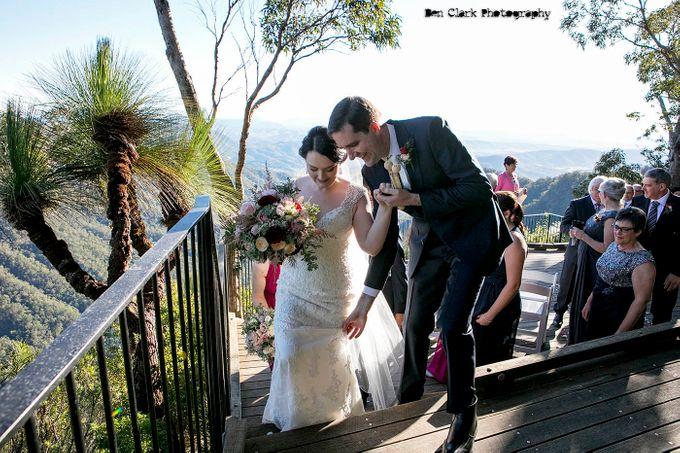 OReillys Rainforest Retreat Wedding by Ben Clark Photography - 015