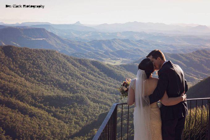 OReillys Rainforest Retreat Wedding by Ben Clark Photography - 019