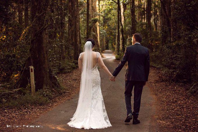 OReillys Rainforest Retreat Wedding by Ben Clark Photography - 020