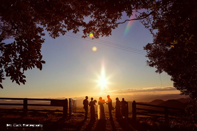 OReillys Rainforest Retreat Wedding by Ben Clark Photography - 031