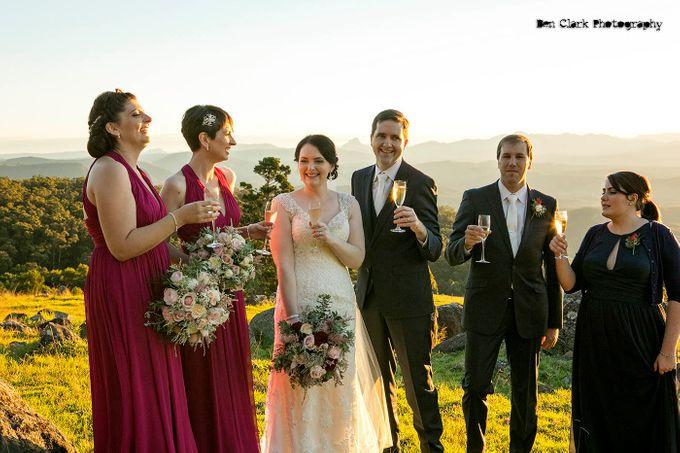 OReillys Rainforest Retreat Wedding by Ben Clark Photography - 033