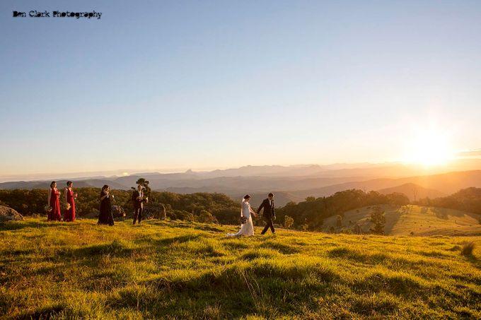 OReillys Rainforest Retreat Wedding by Ben Clark Photography - 035