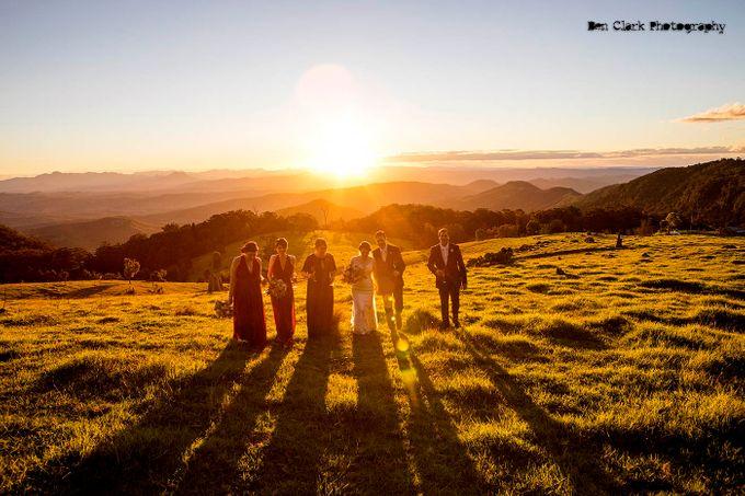 OReillys Rainforest Retreat Wedding by Ben Clark Photography - 036