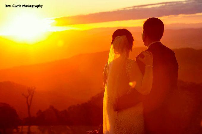OReillys Rainforest Retreat Wedding by Ben Clark Photography - 039