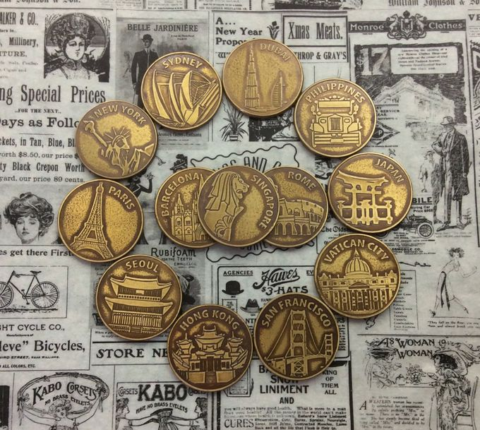 Wedding Coins by Jigs and Clays - 008