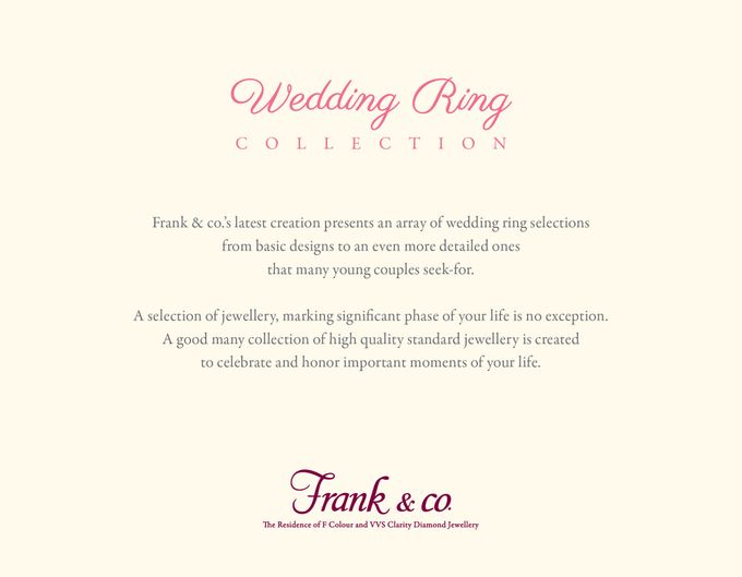 Wedding Ring Collection by Frank & co. - 002